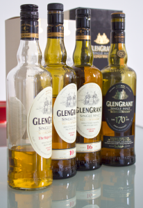 Glen Grant Major's Reseve, 10 and 16 year old and 170.